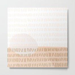 Coit Pattern 16 Metal Print