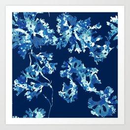 Marine Seaweed Art Print