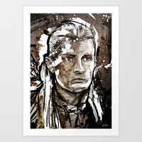 legolas Art Prints featuring Legolas by Patrick Scullin