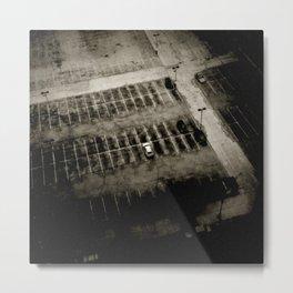 alone in a lot Metal Print