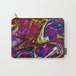 Ask Again, Yes - Abstract Painting by Jeanpaul Ferro Carry-All Pouch