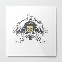 Cheerful Rodger Metal Print