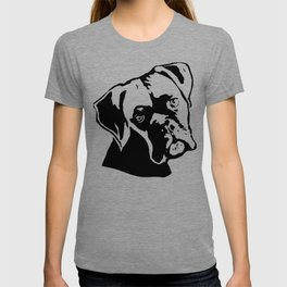 DOWNTIME  WITH THE BOXER DOG GIFTS FOR YOU FROM MONOFACES IN 2021 T-shirt