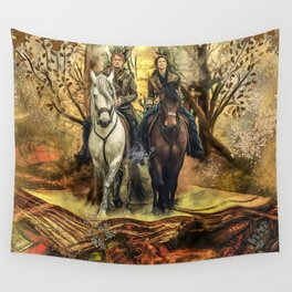 Drums of autumnal Wall Tapestry