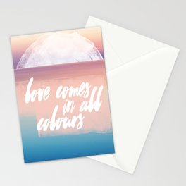 All kinds of love Stationery Cards