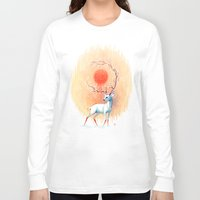 spring Long Sleeve T-shirts featuring Spring Spirit by Freeminds
