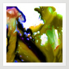 Abstract Bliss 3C by Kathy Morton Stanion Art Print