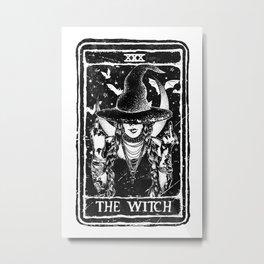 The Witch Tarot Metal Print