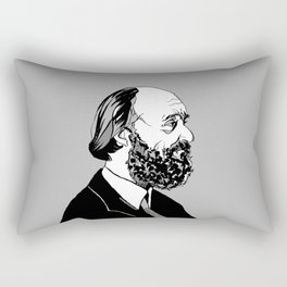 Arvo Part Music - Composer - Musician - Arvo - Part - Estonia - World - Perform Rectangular Pillow