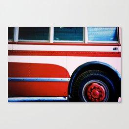 Summer Bus Trip Canvas Print