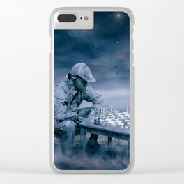 Bedenkzeit Clear iPhone Case