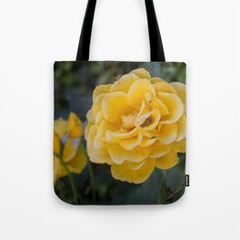 Rose Garden Six (with bonus friend) Tote Bag