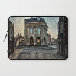 The Town Hall At Abingdon Laptop Sleeve