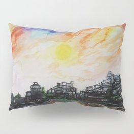 WAtercolor City Pillow Sham