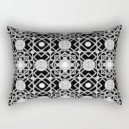 Diamonds, Circles and Squares, Oh My! Rectangular Pillow