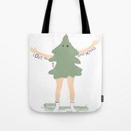 Xmas Tree Guy (Nils) Tote Bag