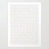 Jelly Bean Colour Art Print