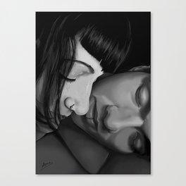 B&WLove Canvas Print