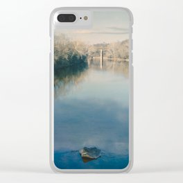 Monocacy River Square Clear iPhone Case