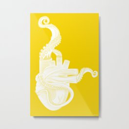 Octoheart Metal Print