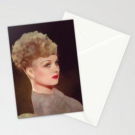Joan Bennett, Hollywood Legend Stationery Cards