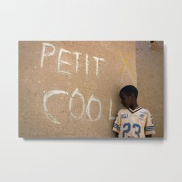 Petit cool in Djenné, Mali Metal Print