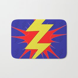 Lightning Bolt Bath Mat