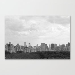New York, New York Canvas Print