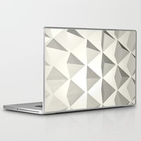 pyramid Laptop & iPad Skins featuring Pyramid by Lauren Miller