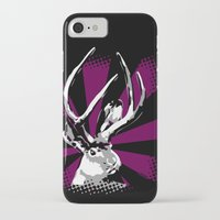jackalope iPhone & iPod Cases featuring Jackalope by Fingers Duke