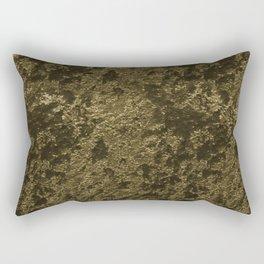 Antique jazz golden velvet Rectangular Pillow