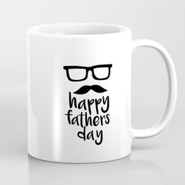 Happy fathers day hipster style Coffee Mug