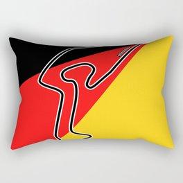 Nurburgring Grand Prix Circuit Rectangular Pillow