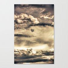 Turbulance Canvas Print