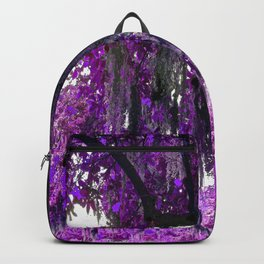 Trees Purple Moss Backpack