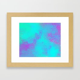 Why not Pink Framed Art Print