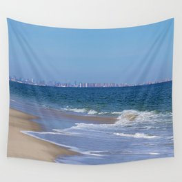 City Skyline Wall Tapestry