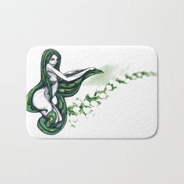 Shades of Springtime Sensuality  Bath Mat