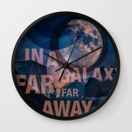 Off Center - In a Galaxy Wall Clock