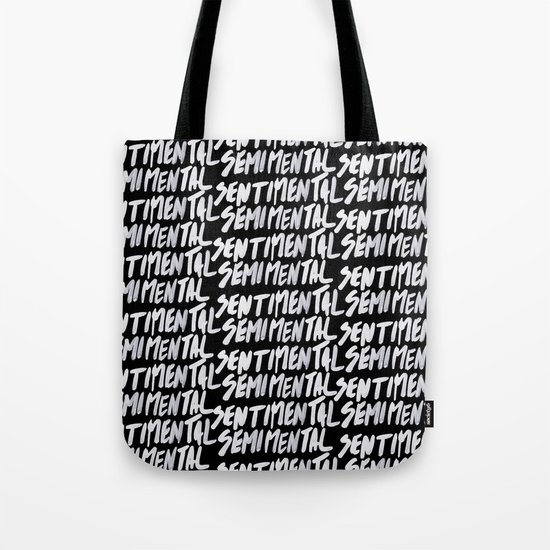 Semimental Tote Bag