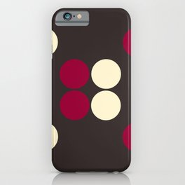 DOTS TTY N14 iPhone Case