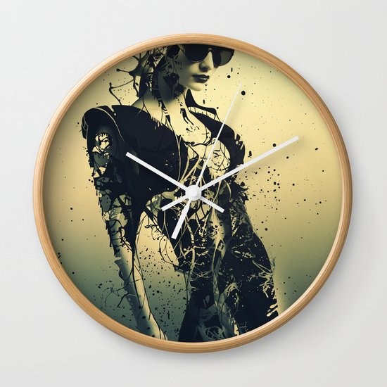 Beauty Echoes Wall Clock