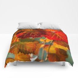 Autumn leaves 1 Comforters