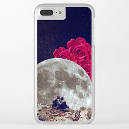 Look at the roses. Clear iPhone Case