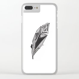 JL Feather Clear iPhone Case