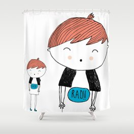 Rad Lad Shower Curtain
