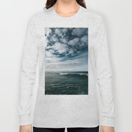 Surfing Ocean Beach San Diego Long Sleeve T-shirt
