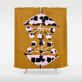 Seed Heads Shower Curtain