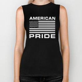 American Flag Pride Biker Tank