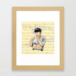 MDT Framed Art Print
